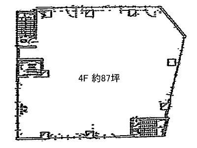 4階(店舗限定)の間取り画像