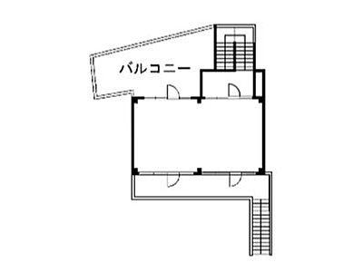 神宮前COURT C 2階(店舗限定)間取りのサムネイル画像