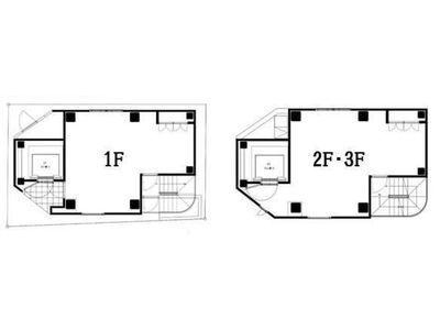ル・グラシエルBLDG.21 1階~3階間取りのサムネイル画像