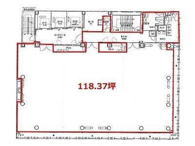 日本橋木村ビル 10階間取りのサムネイル画像