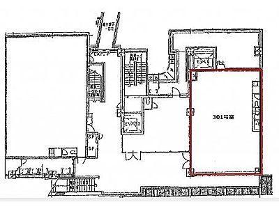 代官山アドレス・ディセ 3階301(店舗限定)間取りのサムネイル画像