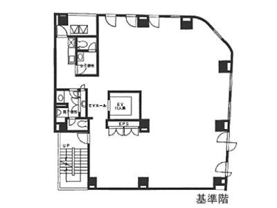 香蘭社ビル 7階間取りのサムネイル画像