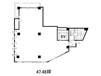 トラヤビル 6階(店舗限定)間取りのサムネイル画像