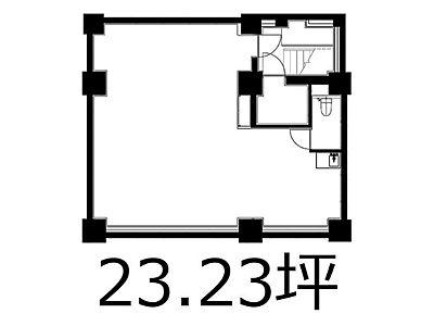 芝公園TCビルディング 地下1階(店舗可)間取りのサムネイル画像