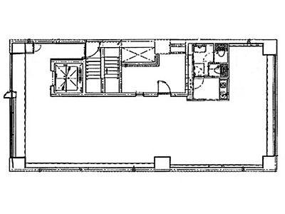 ホワイト赤坂 2階間取りのサムネイル画像
