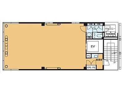 VORT麹町Ⅱ(旧:HIDA麹町ビル) 4階間取りのサムネイル画像