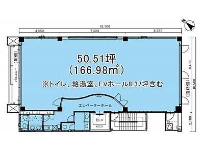 SERECON SQUARE(セルコンスクエア) 5階間取りのサムネイル画像