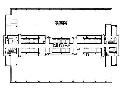 品川インターシティC棟 17階間取りのサムネイル画像