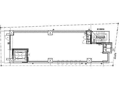 (仮称)ファザーランド渋谷Ⅱ 5階(店舗可)間取りのサムネイル画像