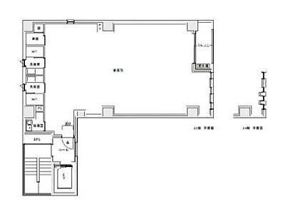KAMAYAビル(中央区) 2階間取りのサムネイル画像