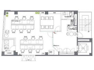 STRADA GINZA EAST(旧:築地SKビル) 6階間取りのサムネイル画像