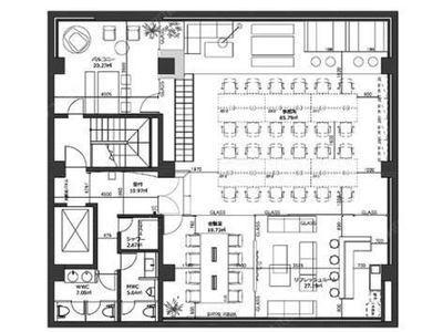 神田ファースト 3階間取りのサムネイル画像