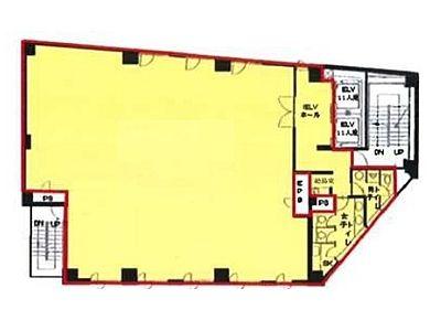 ラウンドクロス秋葉原 6階間取りのサムネイル画像