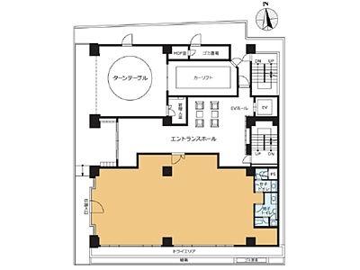 VORT末広町Ⅱ 1階(店舗限定)間取りのサムネイル画像