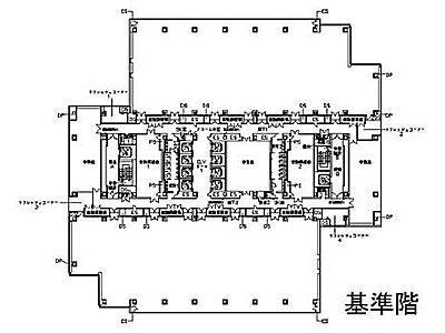文京グリーンコート センターオフィス 2階間取りのサムネイル画像