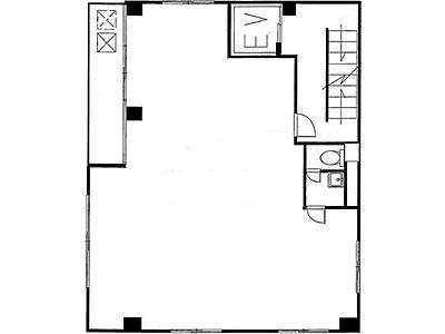 オノビル(小野ビル) 5階(店舗可)間取りのサムネイル画像