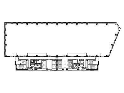 大崎ブライトコア 15階C1502間取りのサムネイル画像