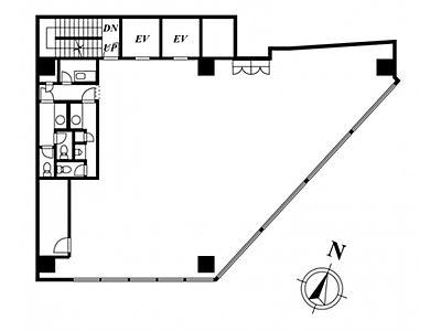 ストロング赤坂ビルディング 9階間取りのサムネイル画像