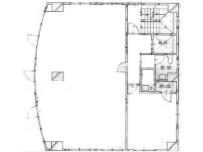ヒマワリビル 4階間取りのサムネイル画像