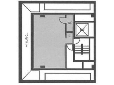 ユニゾ新川一丁目ビル 8階間取りのサムネイル画像
