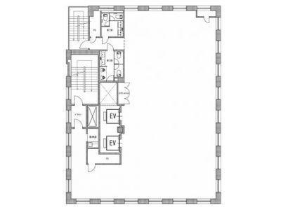 ニューリバータワー 7階間取りのサムネイル画像