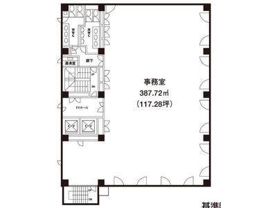 ウィン第二五反田ビル 8階間取りのサムネイル画像