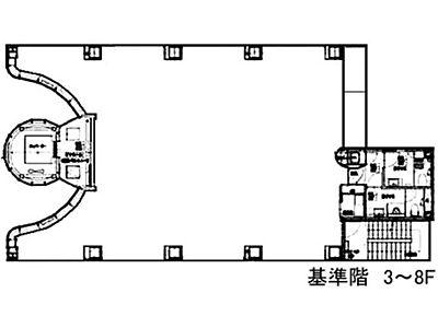 ルミナス 8階間取りのサムネイル画像