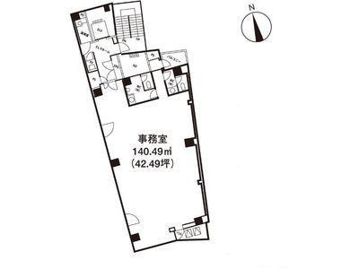 いちご神保町ビル 3階間取りのサムネイル画像