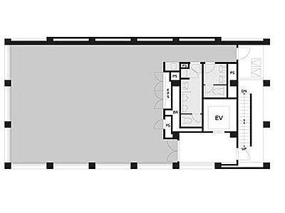 VORT浜松町Ⅲ 10階間取りのサムネイル画像