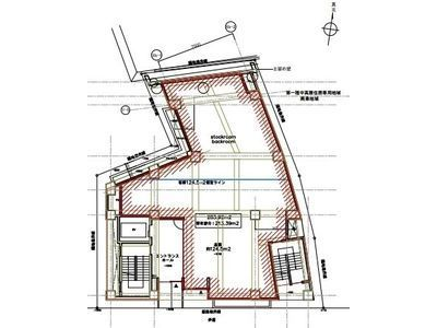 地下1階~3階(一棟貸・店舗可)の間取り画像