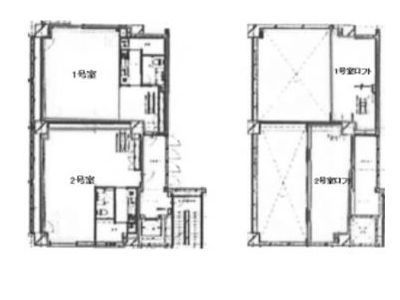 KAZU表参道 2階202(店舗可)間取りのサムネイル画像