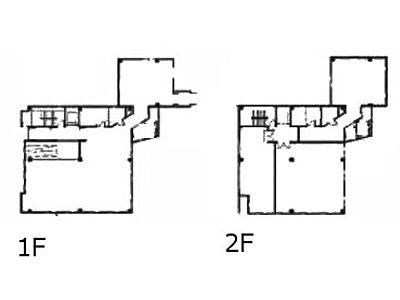 イプソンビル 1階~2階(店舗可)間取りのサムネイル画像