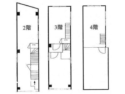 恵比寿FNビル 1階~4階(一棟貸・店舗限定)間取りのサムネイル画像