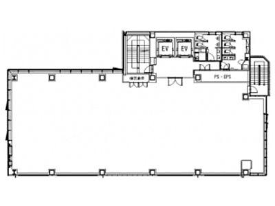 (仮称)神南一丁目計画 2階間取りのサムネイル画像