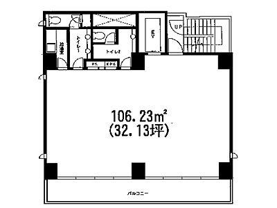 モドマルシェ渋谷桜丘 8階間取りのサムネイル画像