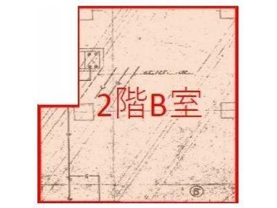 ライオネス浜松町 2階B間取りのサムネイル画像