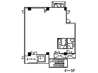 サンドー原宿ビル 4階間取りのサムネイル画像
