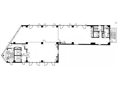 永代橋エコピアザビル 5階間取りのサムネイル画像