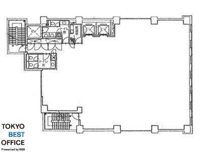 FUSE BLDG.Ⅰ 7階間取りのサムネイル画像