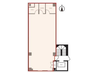 浜松町オークビル(旧:浜松町1丁目PJビル) 5階間取りのサムネイル画像