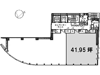 TORANOMON BUILDING(虎ノ門ビル) 8階802間取りのサムネイル画像