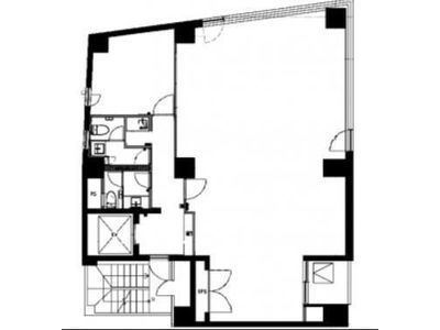 グランド茅場町ビル 2階間取りのサムネイル画像