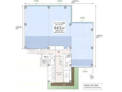 プライムテラス神谷町(Prime Terrace KAMIYACHO) 7階間取りのサムネイル画像