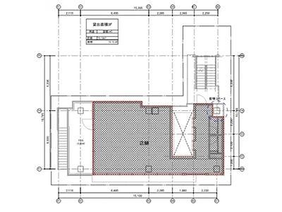 テイテル内神田3丁目ビル(仮称)内神田3丁目PJ 3階(店舗限定)間取りのサムネイル画像