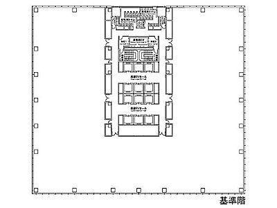 有明セントラルタワー 7階間取りのサムネイル画像