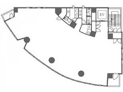 55-1麻布台 2階間取りのサムネイル画像