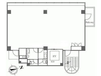 HIS麻布台ビル(旧:(仮称)麻布台ビル計画) 3階間取りのサムネイル画像