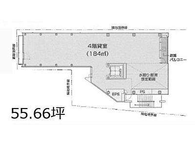 原宿神宮の森 4階(店舗限定)間取りのサムネイル画像