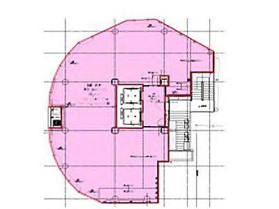 (仮称)宇田川町32開発計画 12階(店舗限定)間取りのサムネイル画像