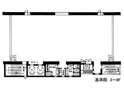 NTF竹橋ビル 7階間取りのサムネイル画像